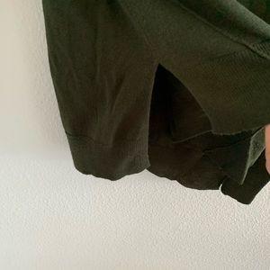 Zara Tops - Zara Knit Forest Green Long Sleeve Sweater Top   M